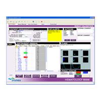 Sysmex WAM结果验证屏幕