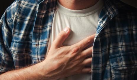 stockart chest pain