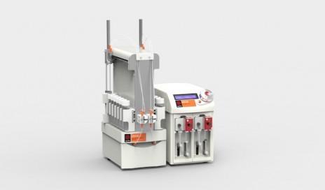 具有注射器泵作物的亚洲RIM 640