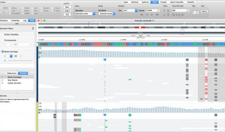 Qlucore挥动模块——基因组浏览器