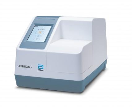 图3。雅培Afinion医疗点平台,艾伯特公园,生病了,3分钟测定HbA1c,5分钟测定白蛋白:肌酐比值,促进实施美国糖尿病协会关于2型糖尿病患者护理点检测的指导方针。