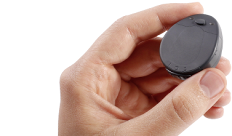 MED-EL's RONDO audio processor for cochlear implants.