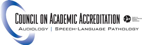 Image result for Council on Academic Accreditation in Audiology and Speech-Language Pathology