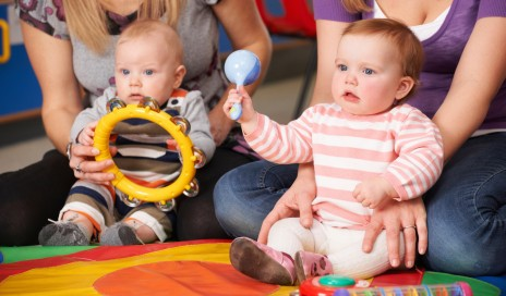 Babies' brains are boosted by music