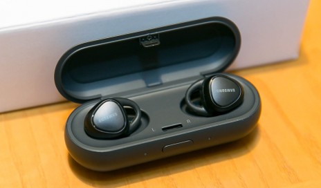 IconX earbuds in case
