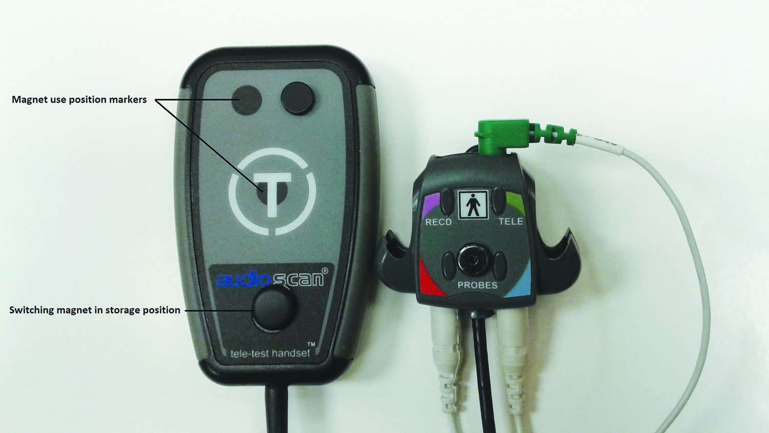acoustical probe hearing aid