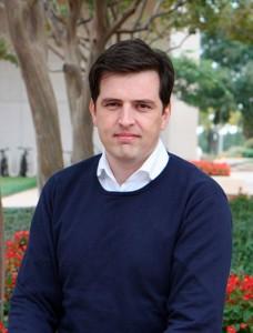 Dr Sven Vanneste, associate professor in the School of Behavioral and Brain Sciences.