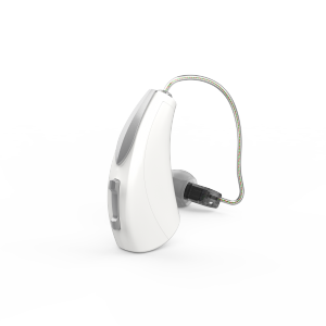 Starkey Livio AI hearing aid available at the Keynsham hearing centre.