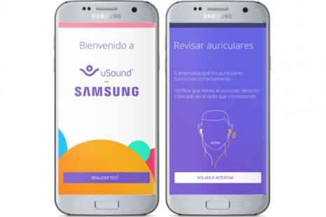 uSound for Samsung enables users to detect risk of hearing loss free of charge.