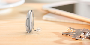 The new Pure 312 X hearing aid: a discreet personalized hearing aid with direct streaming.
