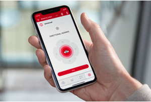 The Signia app provides hearing aid wearers with everything they need for a personalized wearing experience, including remote control, remote support, and audio streaming.