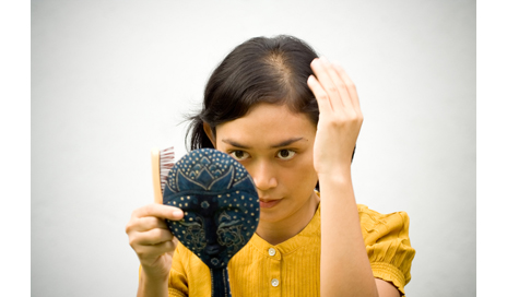http://www.dreamstime.com/stock-photo-woman-hair-loss-problem-image10091350