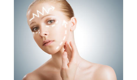 http://www.dreamstime.com/stock-photo-concept-skincare-skin-beauty-young-woman-facelift-plastic-surgery-rejuvenation-arrows-image30158740