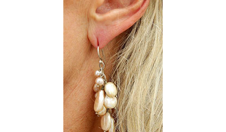earrings pair by com studs plastic steel ear tlel caflon colors surgical white dp amazon mixed piercing metal