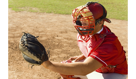 http://www.dreamstime.com/stock-image-baseball-catcher-crouching-field-image13584881