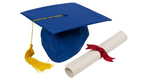 http://www.dreamstime.com/stock-photos-blue-graduation-hat-diploma-image23616343