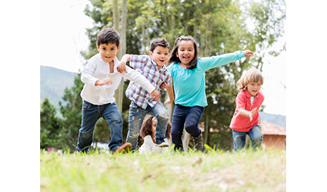 http://www.dreamstime.com/royalty-free-stock-photo-happy-kids-playing-group-park-image33280955