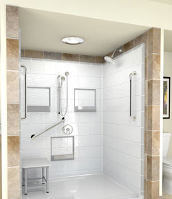 Charmant Walk In Bathtubs And Handicap Shower Systems Feature Preinstalled Grab Bars