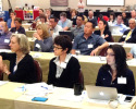 iPTCA 2015 Conference attendees listen to Timothy Gendreau's address.