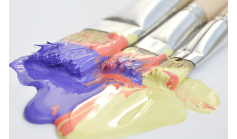 http://www.dreamstime.com/royalty-free-stock-photos-paintbrushes-acrylic-paint-image23871358