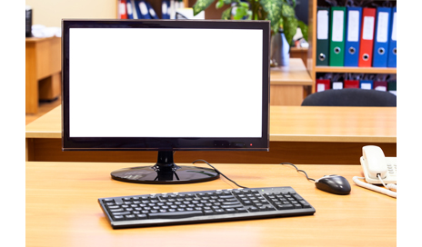 http://www.dreamstime.com/royalty-free-stock-photography-monitor-keyboard-computer-mouse-office-desk-workplace-image35993537