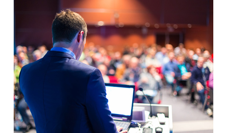 http://www.dreamstime.com/stock-photos-speaker-business-conference-presentation-audience-hall-image42466863
