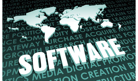 http://www.dreamstime.com/stock-photo-software-industry-global-standard-d-map-image31538100
