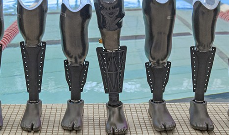 Image result for prosthetic swim fin