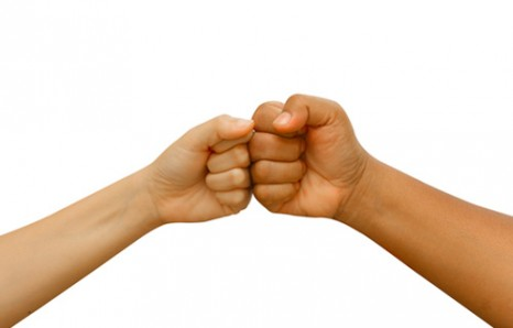 Bump it fist bumps transfer less germs than handshakes m4hsunfo