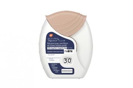 Pharma Gsk Trelegyellipta 500 Gsk Trelegyellipta The Us Fda Has Approved Trelegy Ellipta Once Daily Single Inhaler Triple Therapy