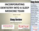 dental sleep medicine webcast