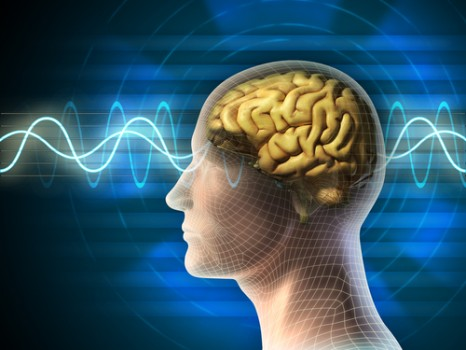 brain blue wavelength light