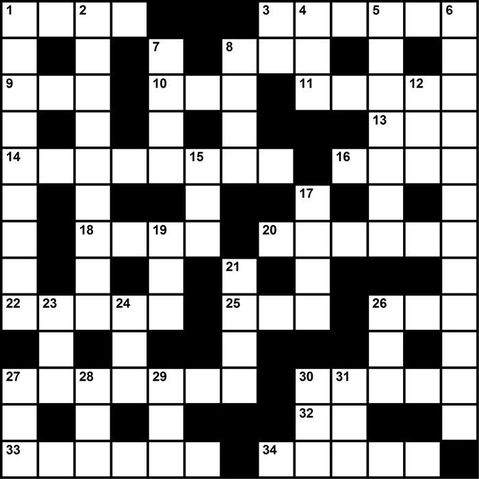 Crossword Puzzle Sleep Medicine Themed Clues Marchapril 2017