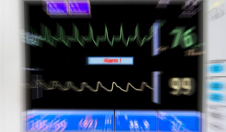 http://www.dreamstime.com/stock-photography-blurred-medical-monitor-image4531922