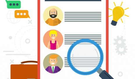 http://www.dreamstime.com/stock-images-vector-flat-concept-employee-list-candidates-to-work-photos-skills-description-zoom-magnifying-glass-picking-image71548014