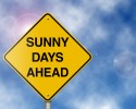 http://www.dreamstime.com/royalty-free-stock-photography-sunny-days-ahead-road-sign-image7752047