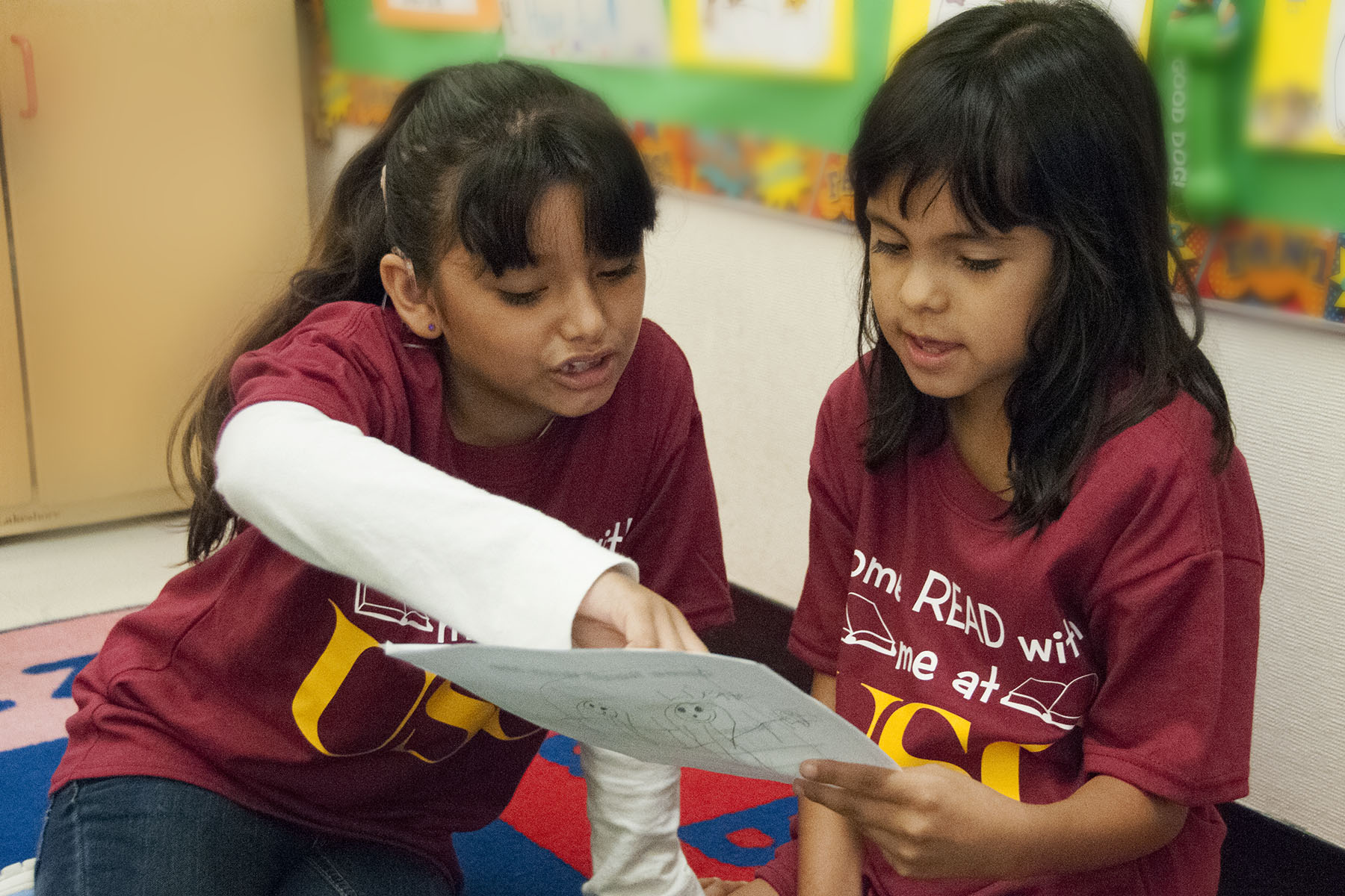 USC Program Helps Develop Literacy for Deaf Children from