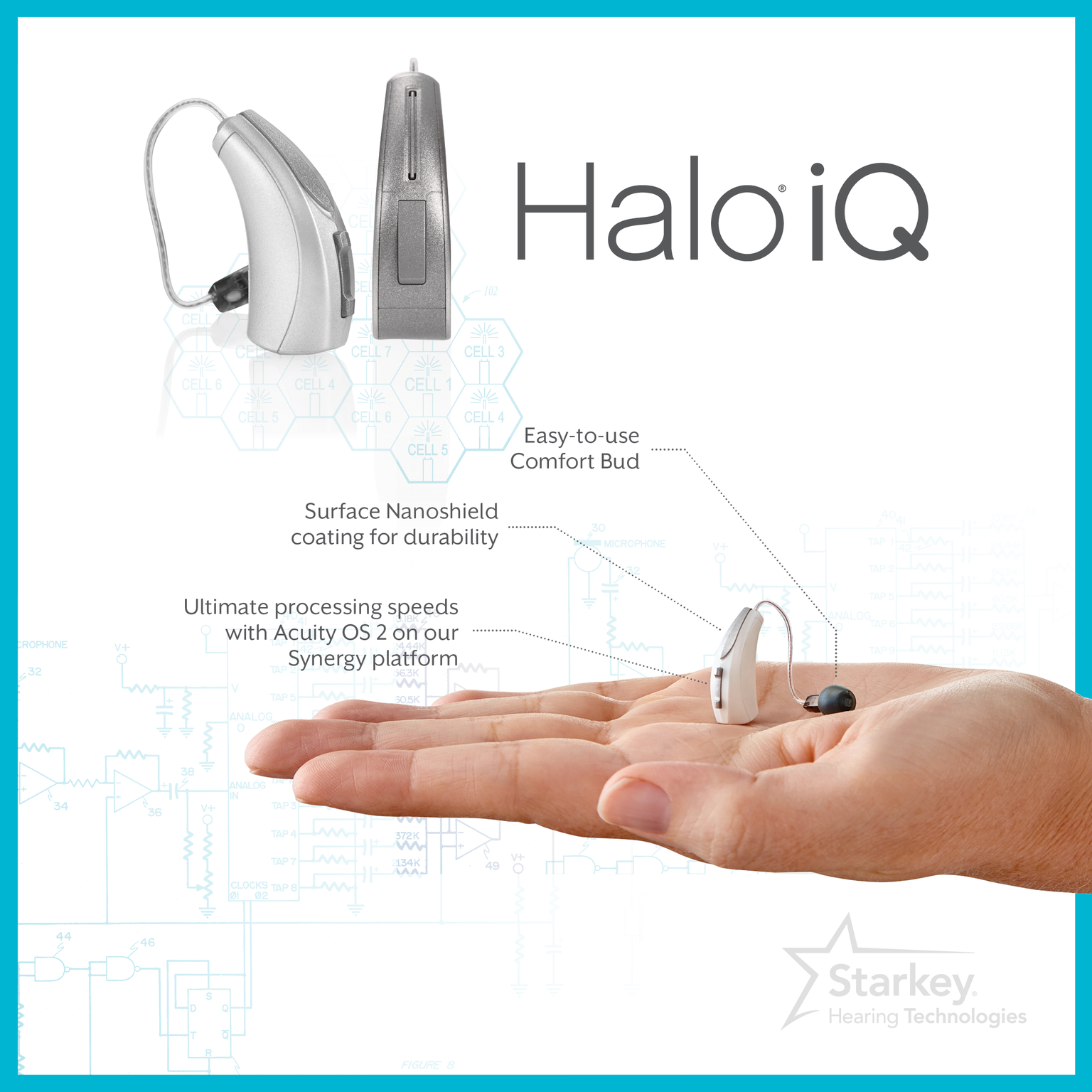 Wireless Hearing Aids Non Vc Wire Center Electronics Schematic Diagram 8211 Max2659 Gps Gnss Low Noise Amplifier Starkey Technologies Launches Iq Product Lines Review Rh Hearingreview Com Aid Accessories Nokia