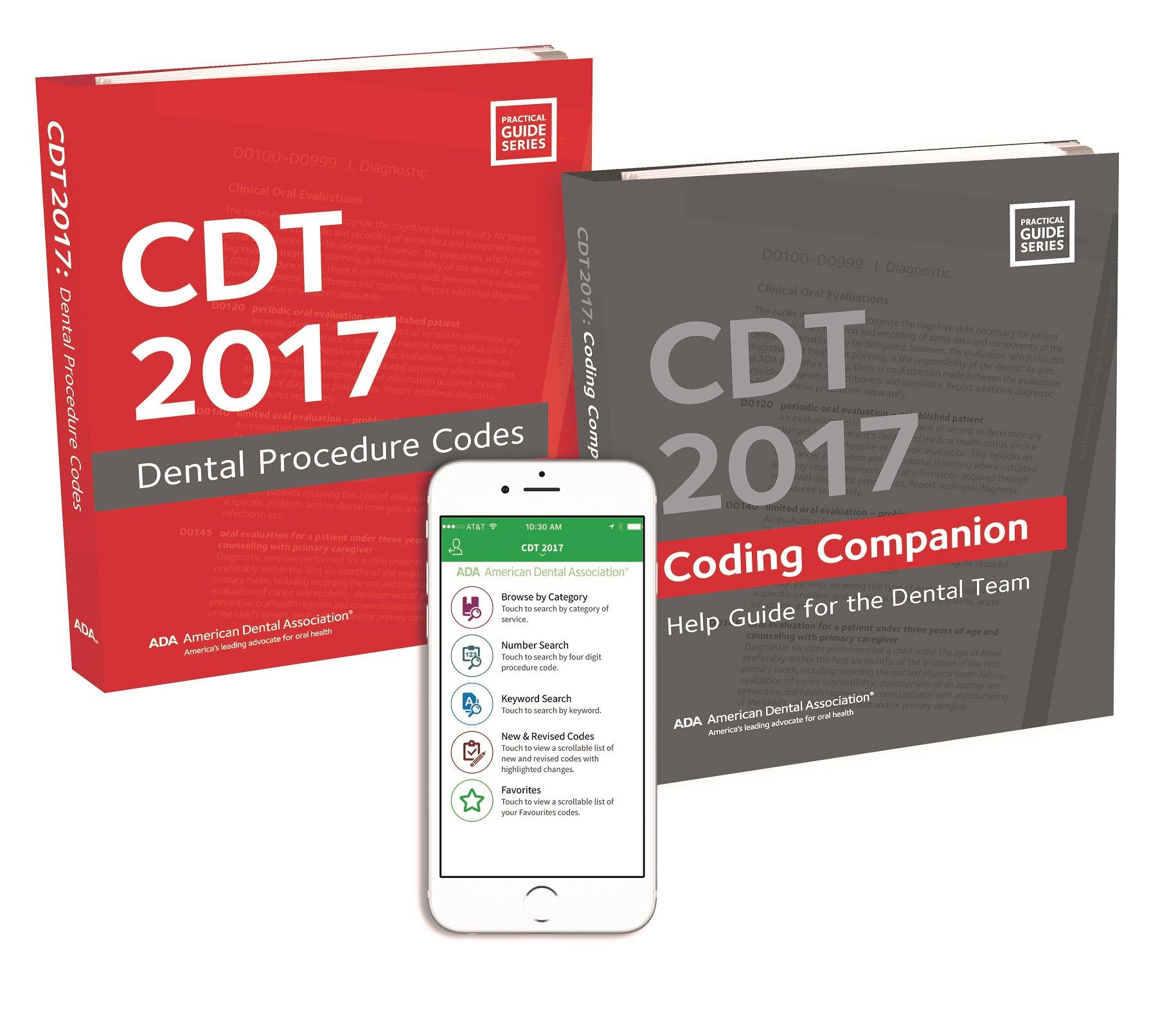 CDT 2016 DENTAL PROCEDURE CODES PDF DOWNLOAD