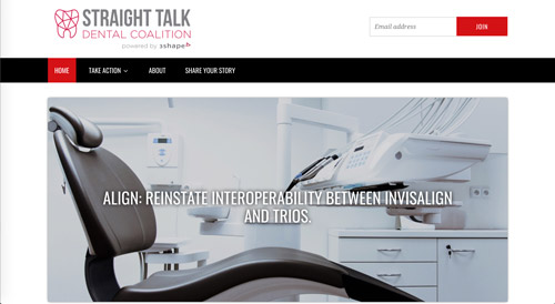 3Shape Launches Straight Talk Dental Coalition