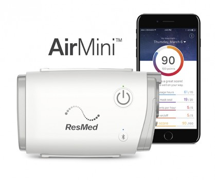 Cpap Machine Reviews >> Resmed Unveils Airmini Travel Cpap Sleep Review