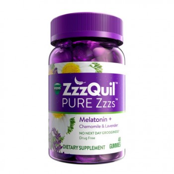 Vicks ZzzQuil PURE Zzzs Melatonin Gummies - Sleep Review