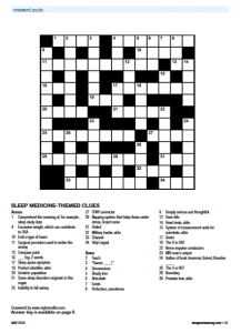 0518 Crossword