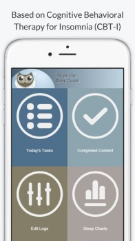 Night Owl - Sleep Coach CBT-I App Created by Behavioral