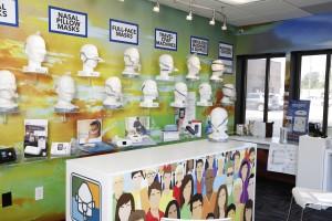 CPAP Store Showroom